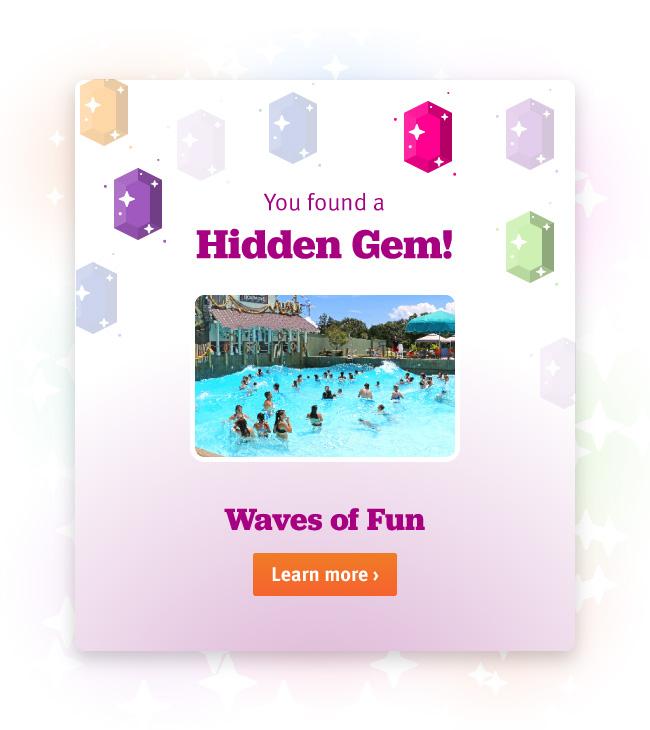 Hidden Gem modal