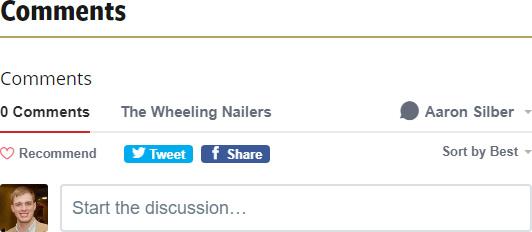 Wheelingnailers.com Disqus commenting