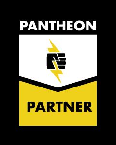 Pantheon partner badge