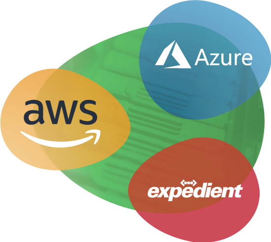 AWS, Azure, and Expedient