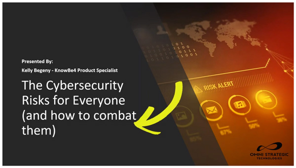 Free webinar: The Cybersecurity Risks for Everyone