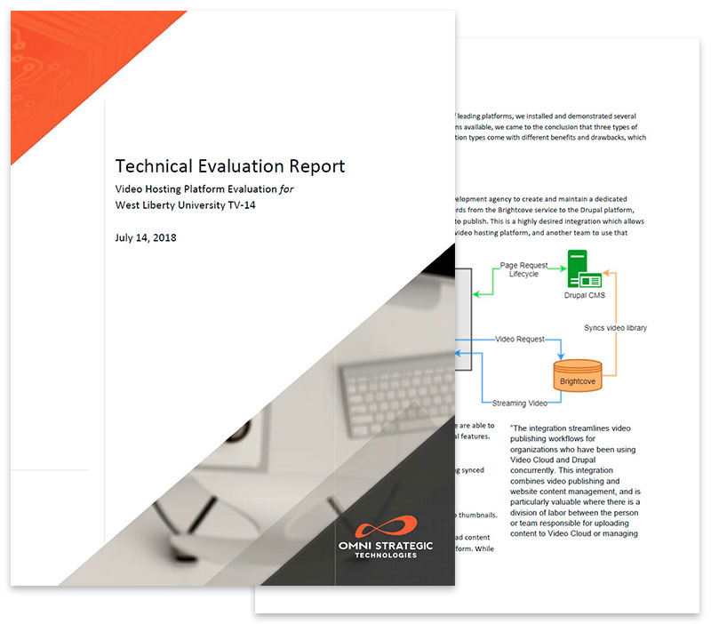 Technical Evaluation Report for video streaming providers.
